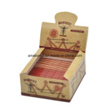 papel de balanceo del tabaco de Weed del cigarrillo del cáñamo del avispón de 110m m