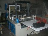Automatische zwei Zeile flacher Plastikbeutel, der Maschine herstellt