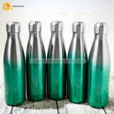 Edelstahl-Kappe Sports Glaswasser-Flasche 450ml