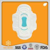 Preço melhor perfurado das almofadas sanitárias, fabricante do guardanapo sanitário do algodão