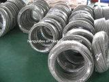 En Téflon PTFE flexible avec l'acier inoxydable tressé de 304/316 SAE 100 R14