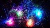 3*AA電池の多彩な光ファイバLED花の装飾ライト