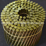 목제 깔판 (STCN04)를 위한 직류 전기를 통한 짜맞추는 강철 코일 못
