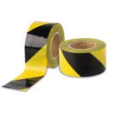 Band van de Waarschuwing van de Streep van de lage Prijs de Gele/Zwarte