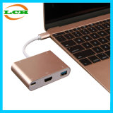 USB 3.1 Тип C для VGA и USB 3.0 кабель адаптера ступицы