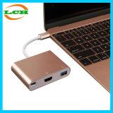 Typ C USB-3.1 bis VGA-und USB-3.0 Konverter-Kabel-Adapter-Nabe