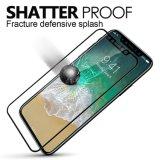 Het hoge Transparante Volledige Aangemaakte Glas van het Scherm van de Dekking Beschermer voor iPhone X