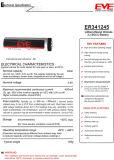 Tipo primario batería de la bobina del litio Er341245 Lisocl2 de Eve del cloruro de tionil del litio de las baterías