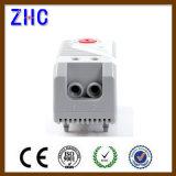 DIN 가로장 35mm는 12V 24V 220V 250V 황급한 활동 조정가능한 온도 조종 필터 팬을%s 두금속 내각 보온장치를 고쳤다