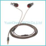 S1 haute qualité dans l'oreille des écouteurs filaires pour téléphone mobile