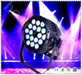 Luz de la IGUALDAD de la iluminación 18*10W RGB 4in1 LED IP65 de la etapa de Guangzhou