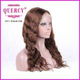 파도치는 아기 머리를 가진 여자를 위한 브라질 레이스 정면 가발은, 염색될 수 있다