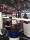 ABS PC Two Lines Máquina de fabricação de extrator laminado para bagagem