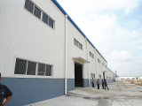 Gruppo di lavoro d'acciaio prefabbricato chiaro prefabbricato di Strucutre/liberato di