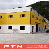 Almacén industrial prefabricado de la estructura de acero del bajo costo de Pth con la instalación fácil