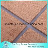 scheda di bambù del bambù del compensato del comitato di bambù a un solo strato orizzontale di 5mm