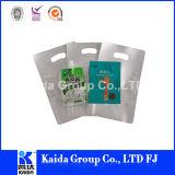 3つの側面のシールのプラスチック適用範囲が広い食糧レトルトアルミホイル袋