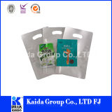 3 Seiten-Dichtungs-flexibler Nahrungsmittelretorte-Aluminiumfolie-Plastikbeutel