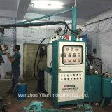 La estación 34 tipo banana PU vertiendo la máquina para fabricación de calzado