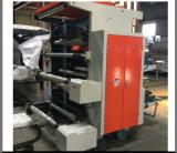 2 couleurs Impression flexo en ligne de la machine pour le PEHD Film PEBD Machine (YT2)