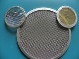 316L disco poroso della maglia del filtro sinterizzato 10 micron dall'acciaio inossidabile
