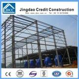 プレハブデザイン構築の鉄骨構造の倉庫