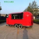 異なった様式のカスタマイズされた食糧トラック