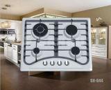 Costruire-nel fornello di gas con la parte superiore di vetro e quattro Buners Jz20y. 4-Sn02