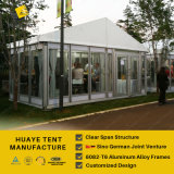 Huaye 6X6m стекла Палатка для большой фестиваль событие (hy234b)