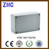 os cercos impermeáveis de alumínio os mais novos da caixa/junção de interruptor IP66 de 160*100*60 milímetro com aprovaçã0 de RoHS