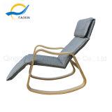 회색 소파 직물은 의자 나무로 되는 가구를 이완한다