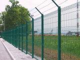Painéis soldados alta segurança da cerca do engranzamento de fio com o GV para o material de construção