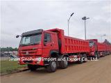Camion à benne basculante lourd de Sinotruk 6X4 18m3