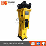 140mm Soosan Sb81 Kraft-hydraulischer Unterbrecher