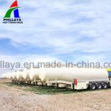 Novo 3 Eixo Pó semi reboque Tanque de cimento a granel