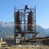 금 채광 장비 크롬 광석 나선 슈트 가격