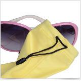 Ultra Fine fibre optique de promotion des lunettes de soleil sac et pochette téléphone
