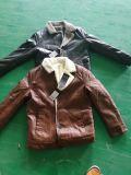 Meilleure vente Hairy PU manteau pour les hommes de gros de vêtements chauds usure extérieure