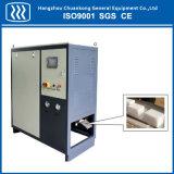 Blocos de gelo seco que fazem a máquina