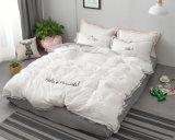 Microfiberの綿の寝具セット