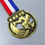 صنع وفقا لطلب الزّبون رياضة كرة الطائرة وسام لأنّ تذكار شجاعة رابح معدن نوع ذهب