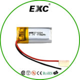 Lipo Battery 571224 3.7V 110mAh Samll와 Slim Lithium Polymer Battery