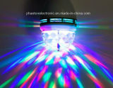 RGB Full Color Rotating LED Lamp Stage Light 3W