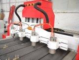 Função de vários Chefes Router CNC máquina para trabalhar madeira