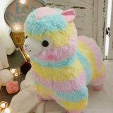 Passeios Kiddie Animal de pelúcia Alpaca brinquedos para venda