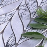 2017 ново! Популярная мозаика металла листьев