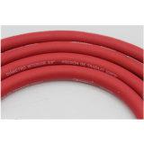 Glatter Typ rote Faser-umsponnener Öldruck-Schlauch