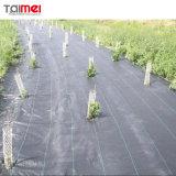 Tecidos de plástico agrícola Weedmat Mulch / Tapete de controle de plantas daninhas