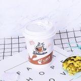 Taza de café de papel doble del aislante de calor del estilo de la pared 12oz del surtidor de China