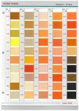 100% luminosi trilobali del filato tinti stimolante With150d/48f del poliestere lui DTY